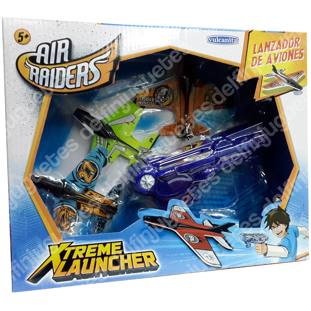 air raiders launcher