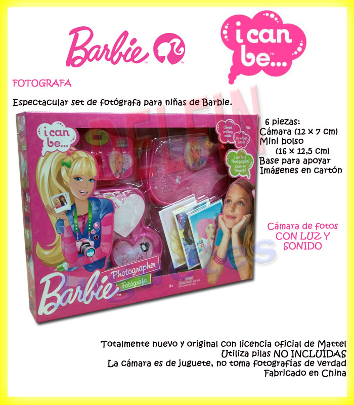 Barbie I Can Be Set de fotógrafa fotografía