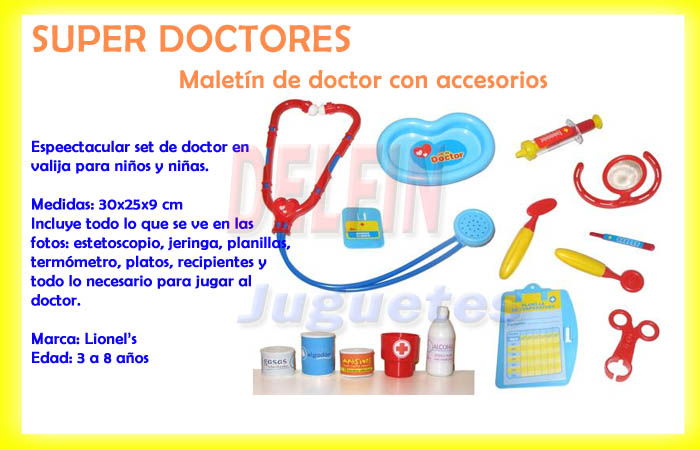 SUPER DOCTORES MALETIN DOCTOR