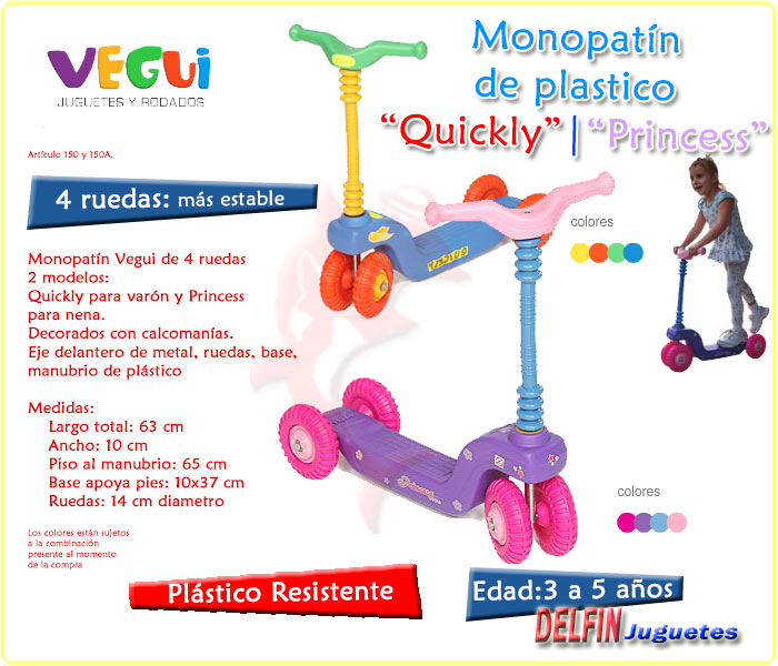 vegui monopatin quickly monopatin princess