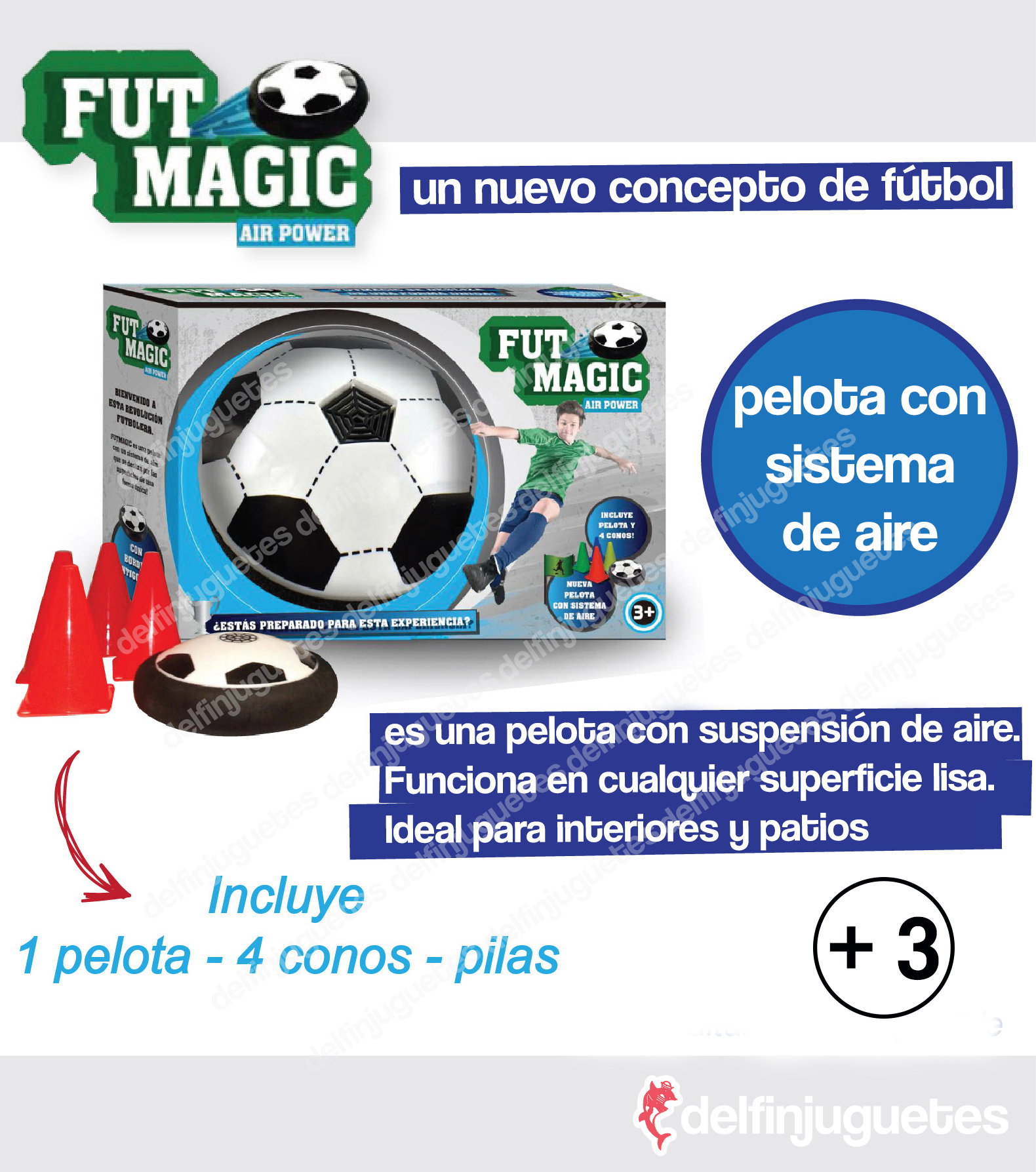 Fut Magic en DELFIN Juguetes
